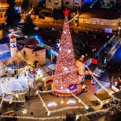 イスラエルで楽しむクリスマスイルミネーション