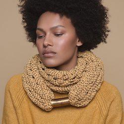 Dayo 手編みスカーフ