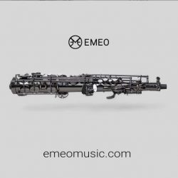 Emeoで場所や時間を問わずサックスフォンの練習が可能に。管楽器練習の新たな地平。