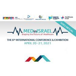 4/20&21 イスラエル政府による医療に特化したシンポジウム兼展示会「MEDinISRAEL」開催