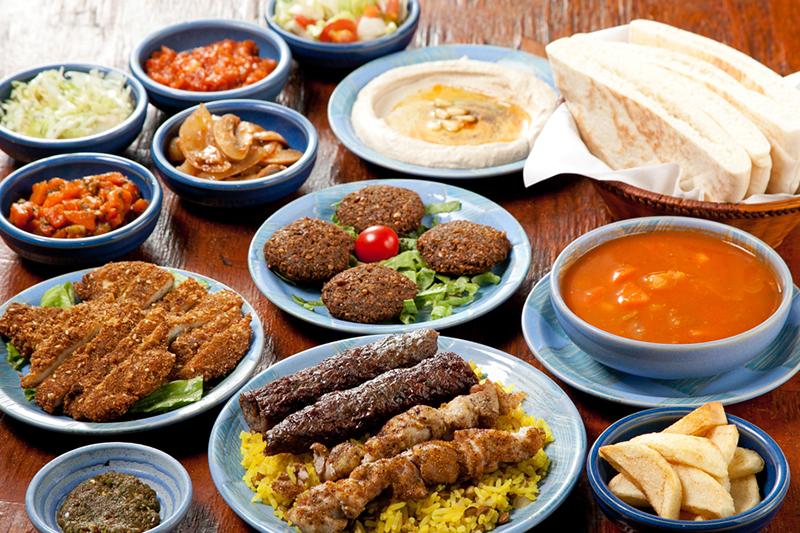 江古田イスラエル料理レストランシャマイムのメニューの写真