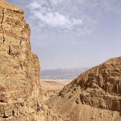 360度パノラマ!イスラエル、ネゲブ砂漠でトレッキング。