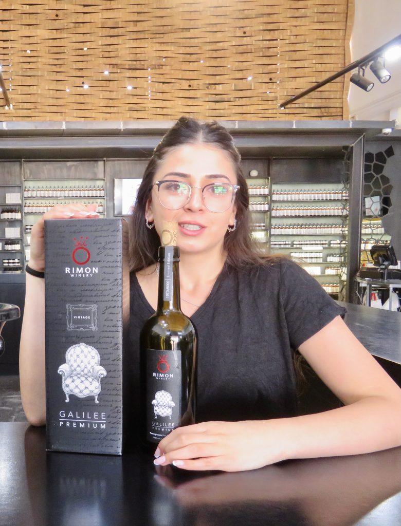 今回私が1番気に入ったものが、このポートワインスタイルのザクロワイン。質の良いポートワインのような独特の重みとまろやかさがありました。