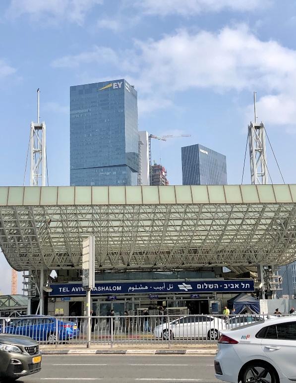 Tel Aviv Hashalom駅