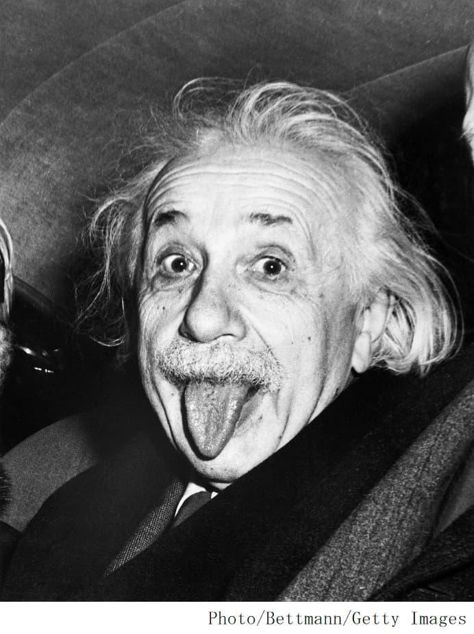 アインシュタイン写真