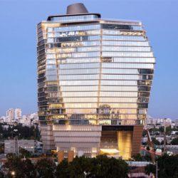 世界一かっこいいオフィスビル!氷山をイメージしたイスラエルの超高層ビルが国際デザイン賞を受賞