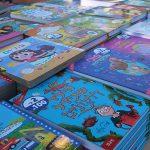 ヘブライ語で書かれた本がいっぱいのブックフェアがイスラエルで開催