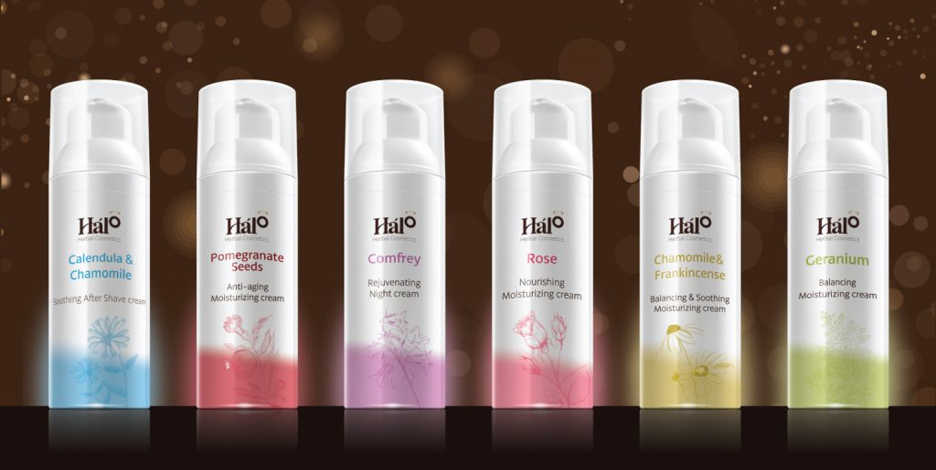 Halo Herbal Cosmetcsラインナップ