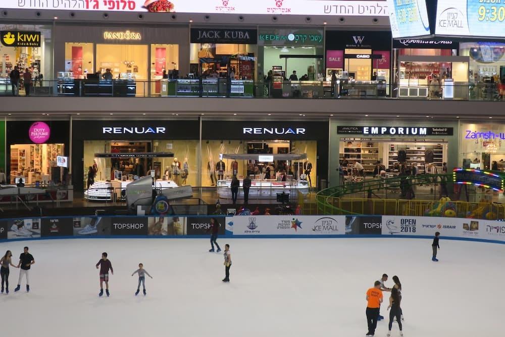 イスラエルエイラットのショッピングモール